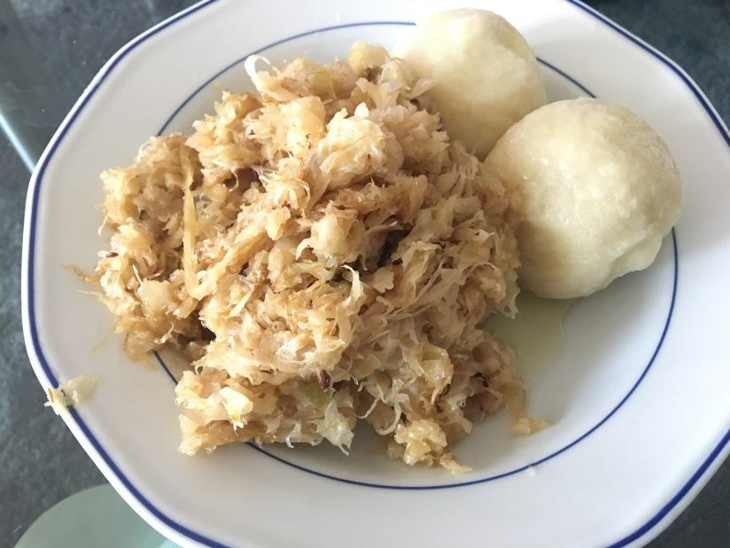 Sauerkraut typisch wienerisch